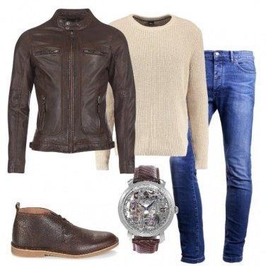 Outfit L\'orologio con movimento meccanico
