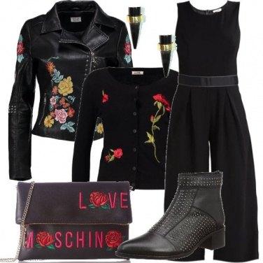 Outfit Il chiodo a fiori