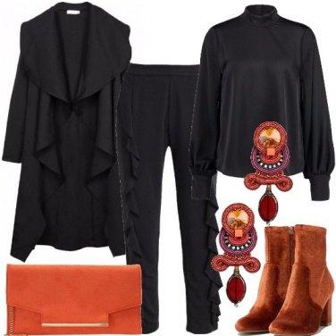 Outfit Dettagli in arancio