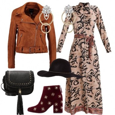 Outfit Gipsy Chic come Levante
