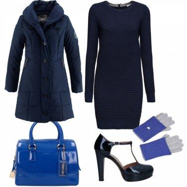 Come abbinare il vestito elasticizzato blu: 245 Outfit Donna
