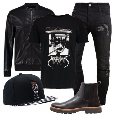 Outfit Passione rock