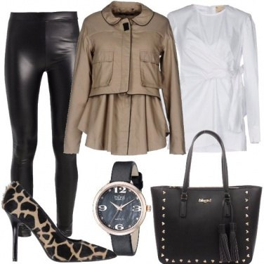 Outfit Animalier di classe