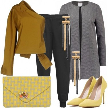 Outfit Monospalla chic