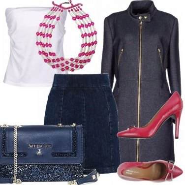 Outfit Serata in denim.