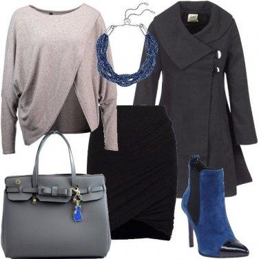 Outfit Un tocco di blu
