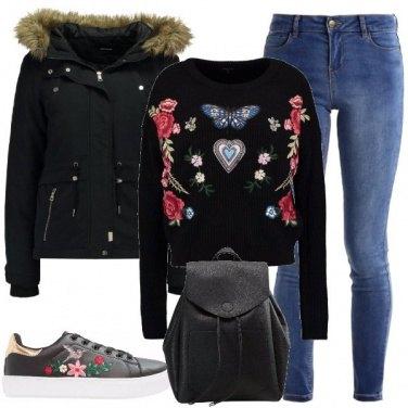 Outfit Decorazioni floreali