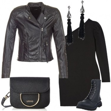 Outfit La ragazza in nero