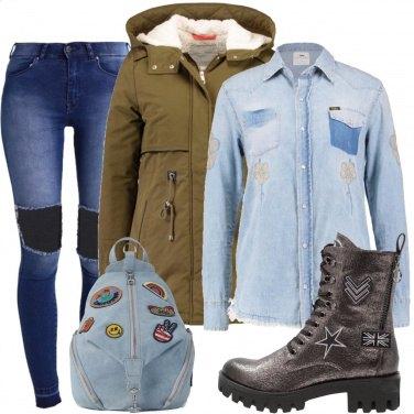 Outfit Con un pò di denim