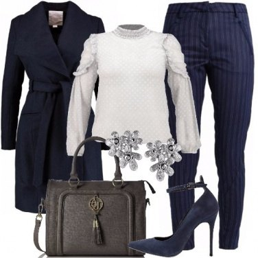 Outfit Fascino in blu