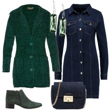 Outfit L\'abito in denim