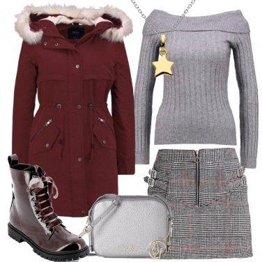 Outfit Un pratico parka