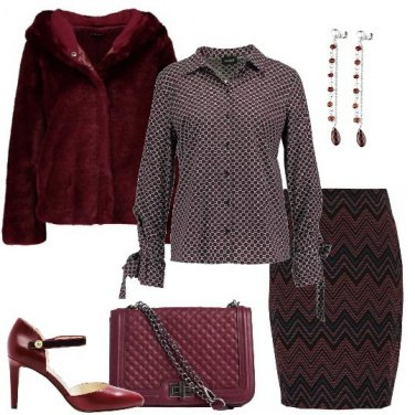 Outfit Abbinamenti in rosso