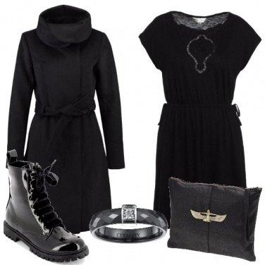 Outfit Nero e grinta