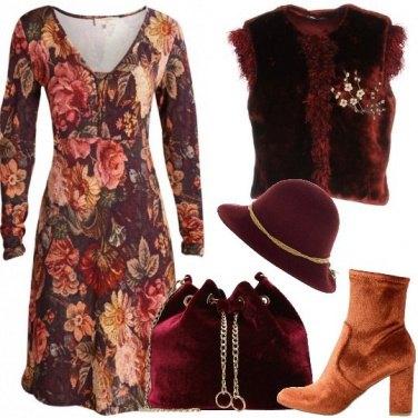 Outfit Una donna romantica