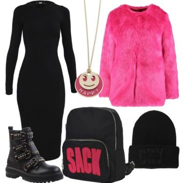 Outfit Rosa shocking