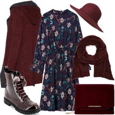 Outfit Romantica con gli anfibi