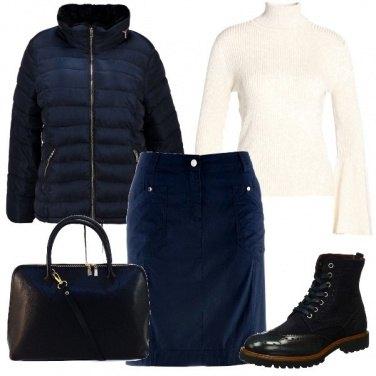 Outfit Io e il blu