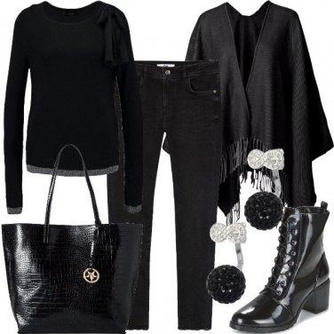 Outfit Nero dall\'inizio alla fine