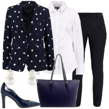 Outfit Il pantalone gessato
