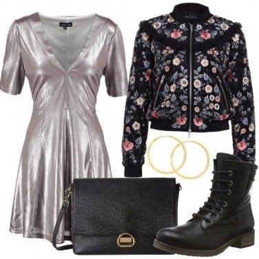 Outfit Serata urban chic