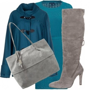 Outfit Biscay bay & grey!