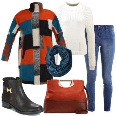 Outfit Un tocco arancione