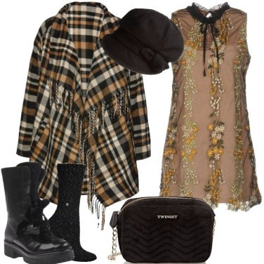 Outfit In un mix di tendenza