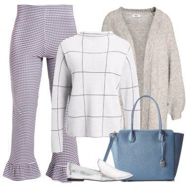 Outfit Le scarpe argento