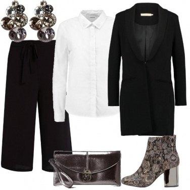 Outfit Cerimonia con i pantaloni
