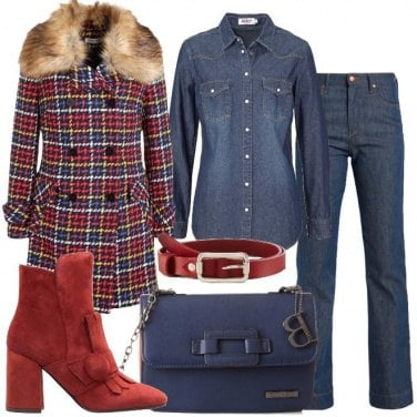 Outfit Total denim da signora