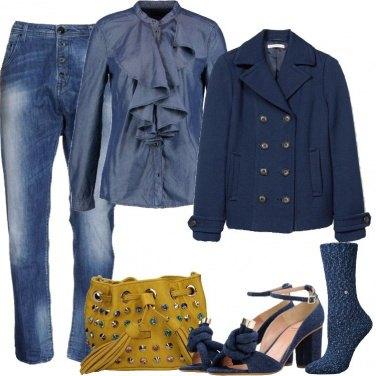 Outfit Denim e sandali