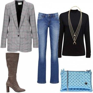 Come abbinare la giacca monopetto grigia: 401 Outfit Donna