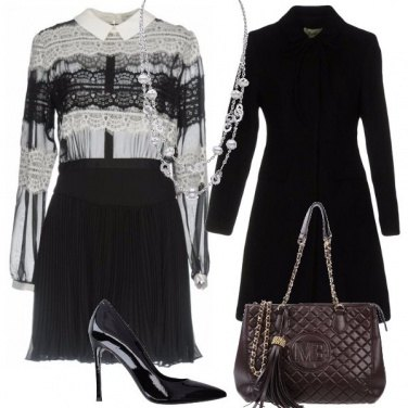 Outfit Bon ton in pizzo