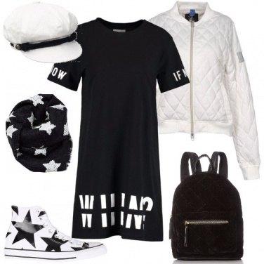 Outfit Zaino e berretto