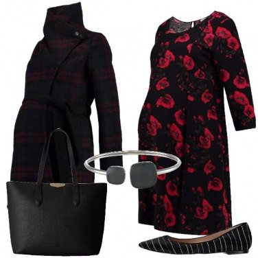 Outfit Papaveri rossi