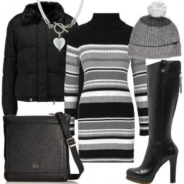 Outfit L\'abito in maglia