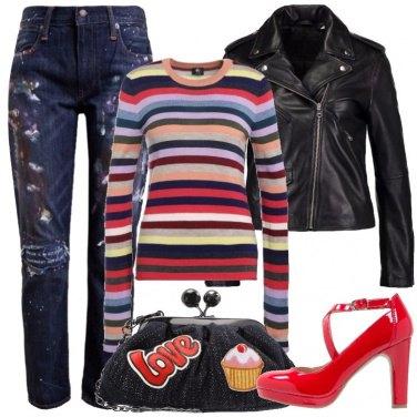 Outfit Uno stile sopra le righe