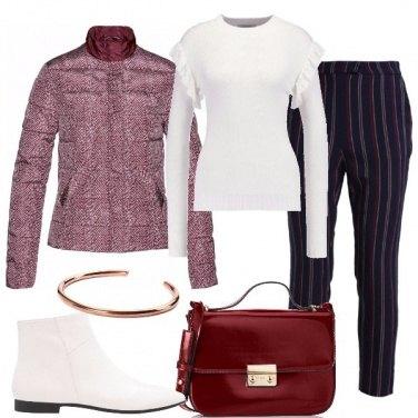 Outfit Fantasie a contrasto