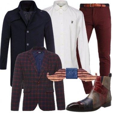 Outfit Cravattino in legno