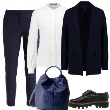 Outfit Il completo blu