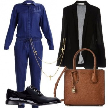 Outfit Jumpsuit in jeans