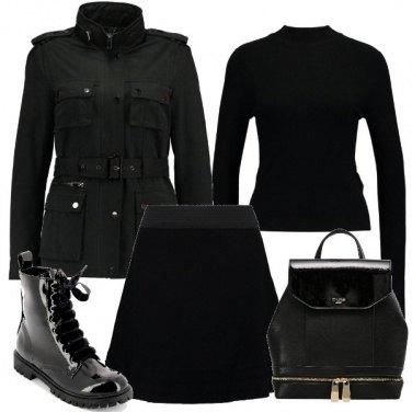 Outfit Nero e giovane