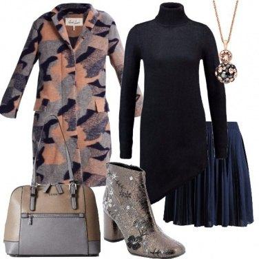 Outfit La gonna sotto il vestito