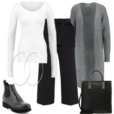 Outfit Il pantalone ampio