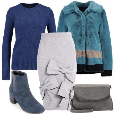 Outfit Un mix di stili