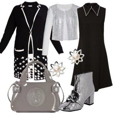 Outfit Bon ton in nero