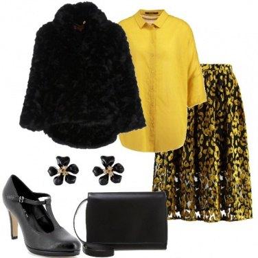 Outfit La camicetta gialla