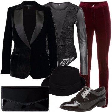 Outfit Mascolina ma velatamente sexy