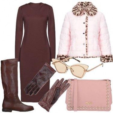 Vestiti Eleganti Yoox.Come Abbinare Il Vestito Collo A V Marrone 71 Outfit Donna
